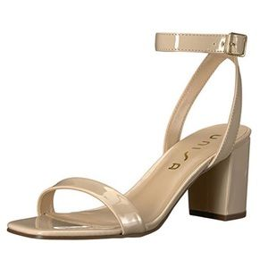 UNISA WOMAN'S TRAVISS 2 NUDE ANKLE STRAP SANDALS